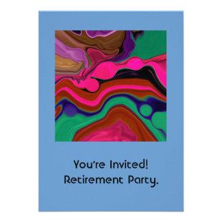 convite da aposentadoria