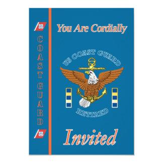 Convite da aposentadoria da âncora de USCG CWO-2