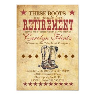 Convite da aposentadoria da buzina & do Holler