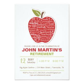 Convite da aposentadoria de Apple