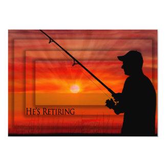CONVITE da APOSENTADORIA - pesca do homem no por