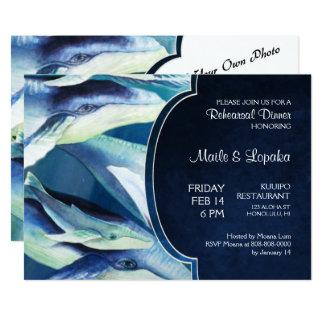 Convite da baleia de Humpback