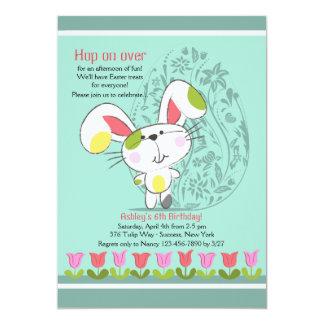 Convite da beira da tulipa da páscoa