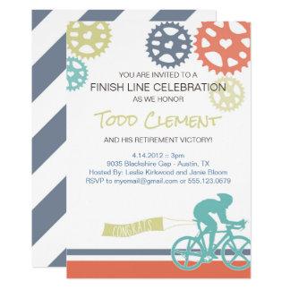 Convite da bicicleta da estrada do ciclista