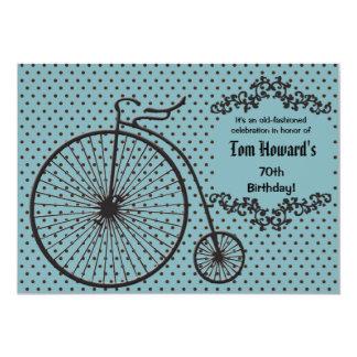 Convite da bicicleta do Moeda de um
