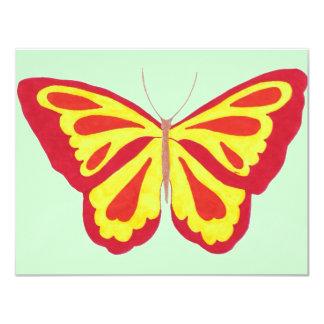 Convite da borboleta