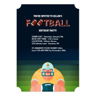 Convite da cara do futebol