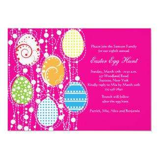 Convite da cascata do ovo da páscoa