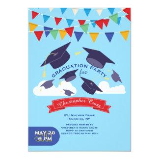 Convite da celebração da graduação