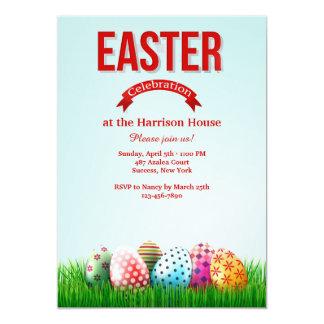 Convite da celebração da páscoa