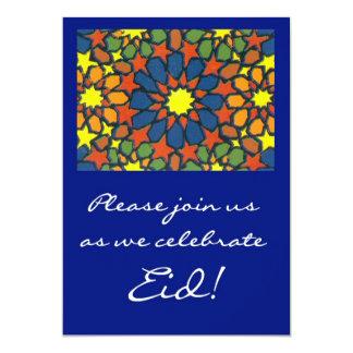 Convite da celebração de Eid - design tradicional Convite 12.7 X 17.78cm