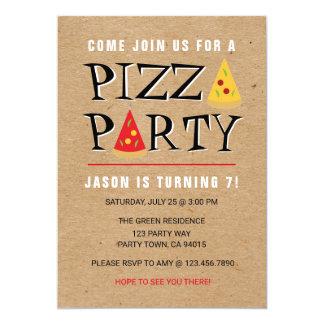 Convite da celebração do aniversário do partido da