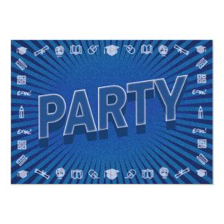 Convite da celebração do partido da escola da