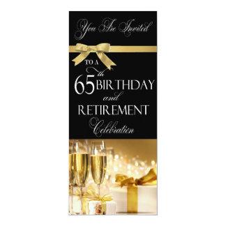 convite da combinação da aposentadoria do