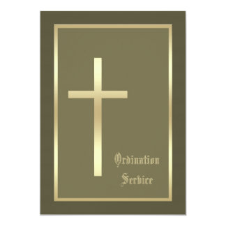 Convite da cruz do convite da classificação da