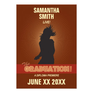 Convite da excursão da graduação (menina)