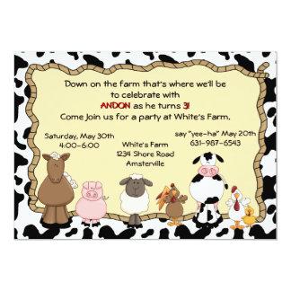 Convite da fazenda Yee-Ha