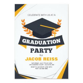 Convite da festa de formatura