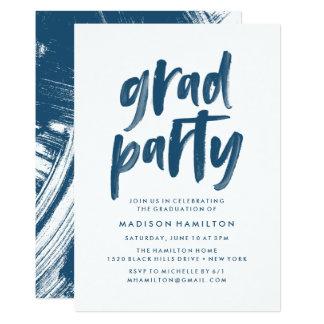Convite da festa de formatura do abstrato |