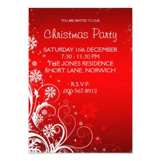 Convite da festa de Natal Convite 12.7 X 17.78cm