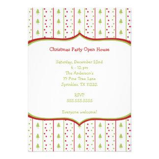 Convite da festa de Natal da modificação com