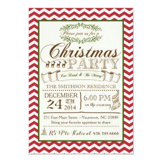 Convite da festa de Natal de Chevron