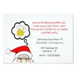 Convite da festa de Natal do divertimento
