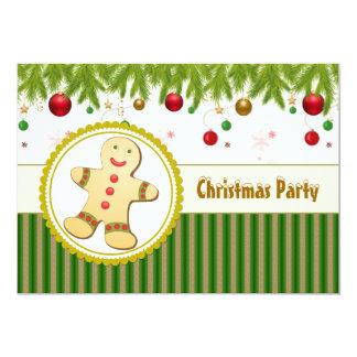 Convite da festa de Natal do homem de