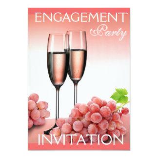 Convite da festa de noivado