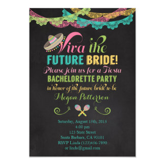 Convite da festa de solteira da festa