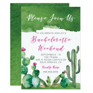 Convite da festa de solteira - Palm Springs