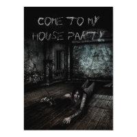Convite da festa em casa