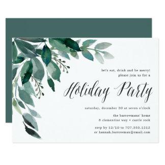 Convite da festa natalícia da abundância   do