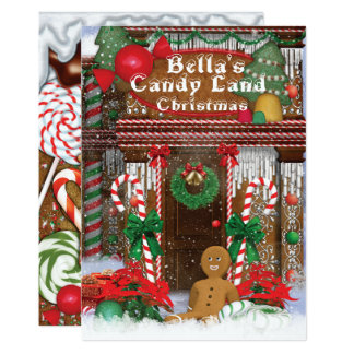 Convite da festa natalícia do Natal