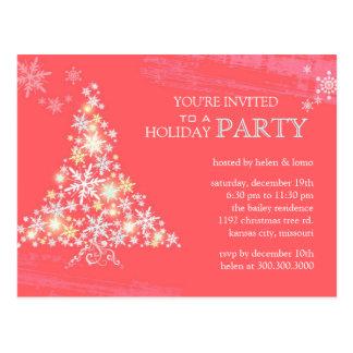 Convite da festa natalícia do rosa da festividade