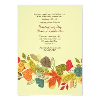 Convite da festão da queda