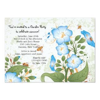 Convite da flor da corriola