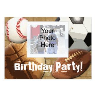 Convite da foto aniversário feitos sob encomenda