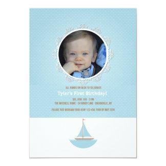 Convite da foto do marinheiro de Lil