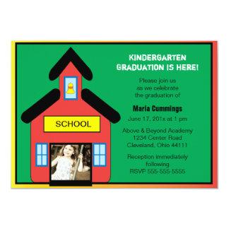 Convite da graduação da escola