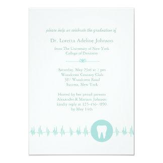 Convite da graduação da escola dental