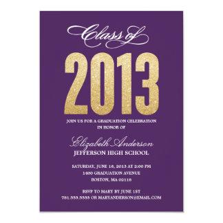 Convite da graduação da faísca