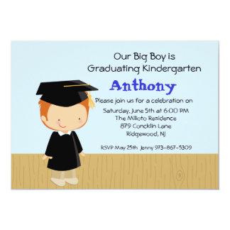 Convite da graduação do nosso menino grande