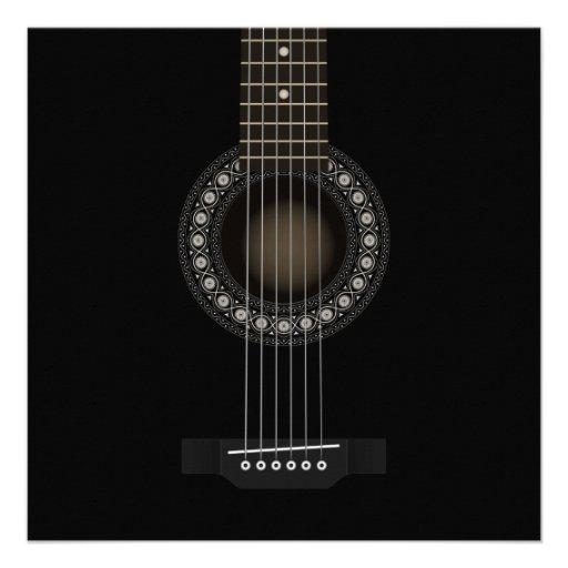 Convite da guitarra acústica