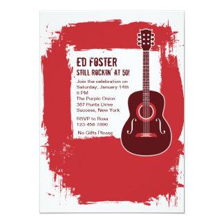 Convite da guitarra de Rockin
