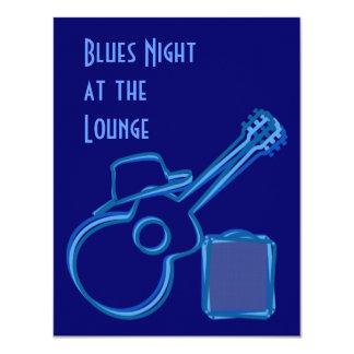 Convite da guitarra dos azuis