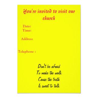 Convite da igreja