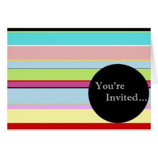 Convite da listra