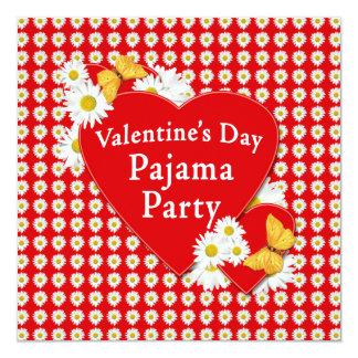 Convite da margarida do partido de pijama dos