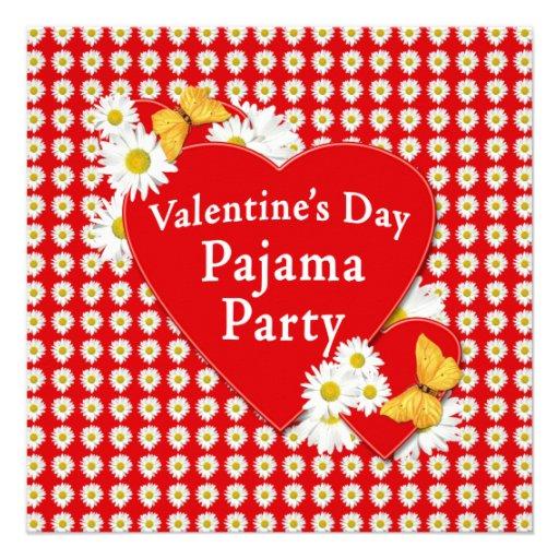 Convite da margarida do partido de pijama dos namo
